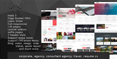 custom joomla template 21 best agency joomla templates free responsive themes
