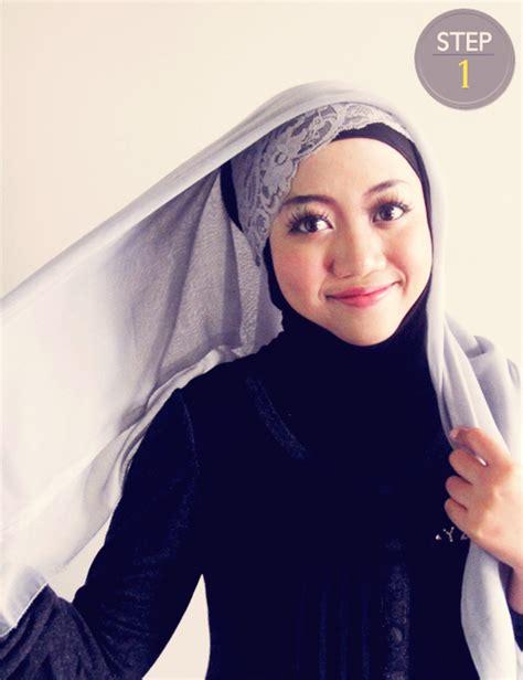 tutorial hijab segi empat istri ridwan kamil fashion tutorial jilbab segi empat simpel dan cantik