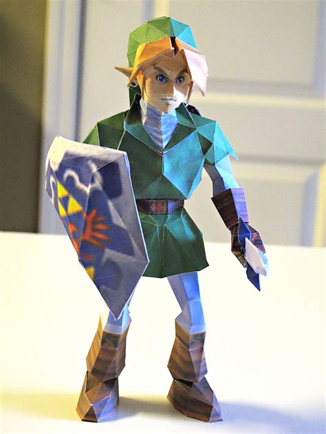 Link Papercraft - link papercraft by im on deviantart