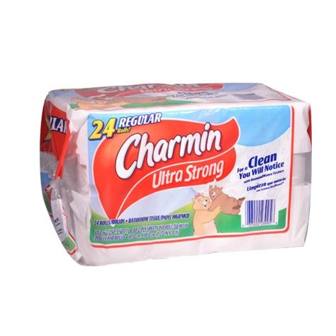 charmin bathroom tissue charmin ultra strong bathroom tissue 24 rolls union
