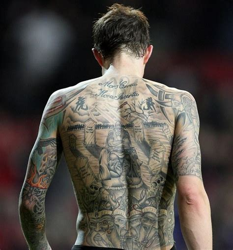 les footballeurs et les tatouages voici le best of des