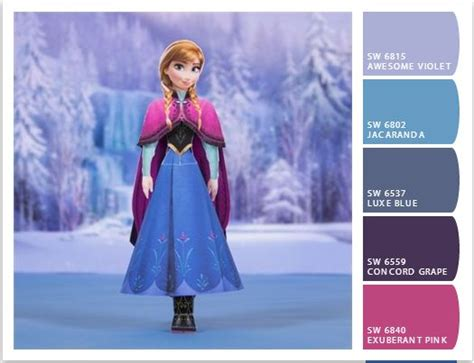 frozen color disney color palette 10 handpicked ideas to discover in