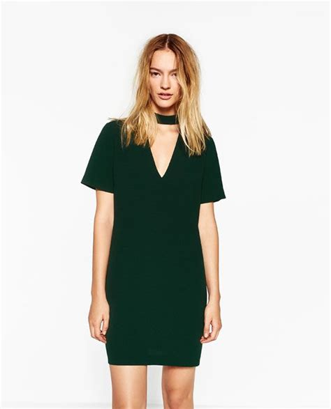 Collar Zara Dress image 5 of mini dress with collar detail from zara 2016