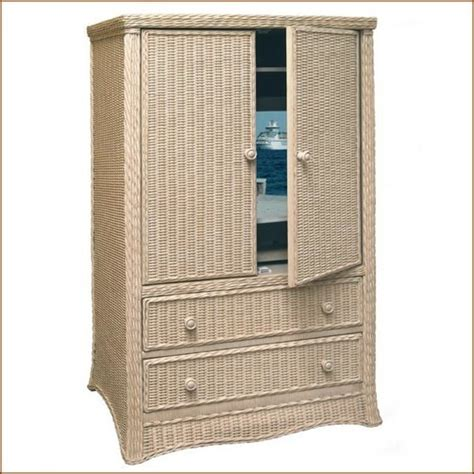 Wicker Wardrobe by Wicker Armoire Door Wardrobe Wicker Wardrobe