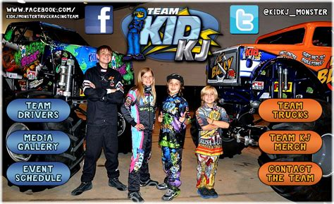 how to become a monster truck driver for monster jam team kid kj monster truck racing page 3