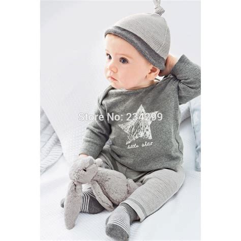 Next 5 D Boy Set 2015 new style baby clothing sets baby from