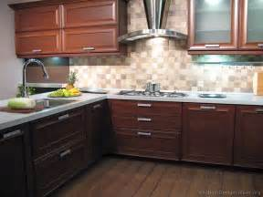 Kitchen Backsplash Ideas With Cabinets by Pictures Of Kitchens Modern Wood Kitchens