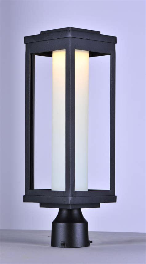 Salon Light Fixtures Salon Led 1 Light Outdoor Post Outdoor Pole Post Mount Maxim Lighting