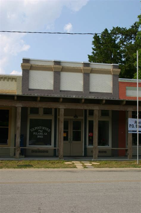 pulaski ga post office photo picture image