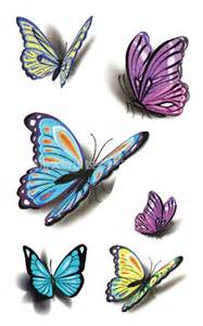 Tattoo body art temporary tattoo stickers for simulation makeup