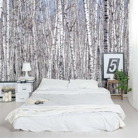 bedroom tree best 25 birch tree wallpaper ideas on pinterest