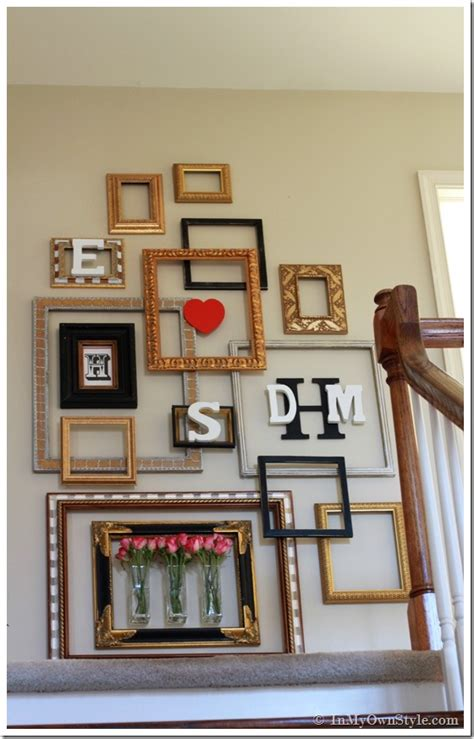 Picture Frame Decorating Ideas Gallery In Hall Modern Design Ideas » Home Design 2017