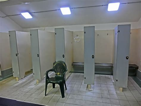 Pool Changing Room by