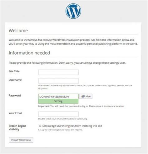 membuat wordpress menggunakan xp blog sribu cara membuat blog menggunakan wordpress