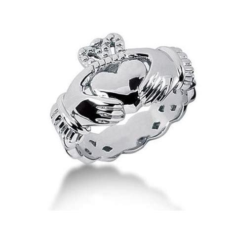 s 14k gold claddagh ring 10414 mdr1011
