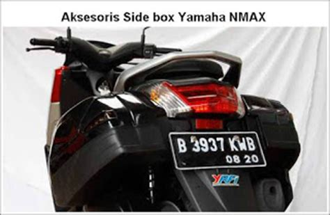 aksesoris side box yamaha nmax