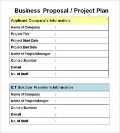 business project template sle business template 14 documents in pdf