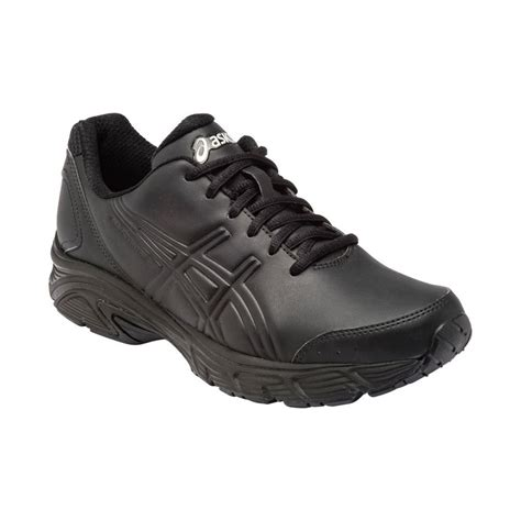asics gel advantage 3 womens walking shoes black