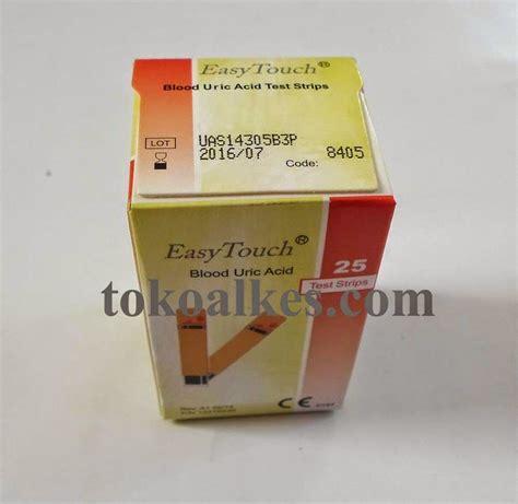 Special Produk Alat Easytouch Gcu Glucose Cholesterol Uric Acid test asam urat uric acid easy touch tokoalkes