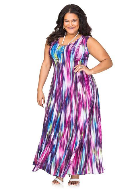 Printed Maxi Dress printed maxi dress plus size dresses stewart 010