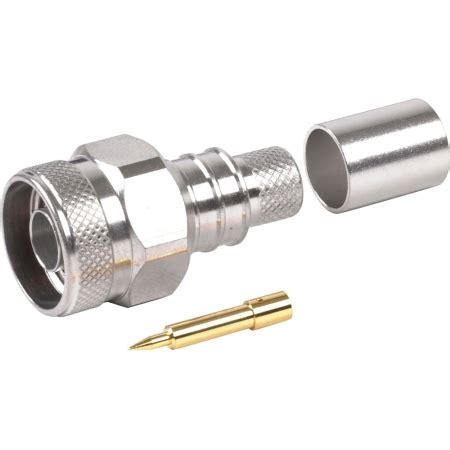 Konektor Rg8 N Crimping 1 rf industries n crimp rg8 lmr400 size