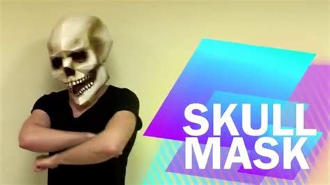 How To Make A Skull Mask Out Of Paper - how to make skull mask from paper diy handmade
