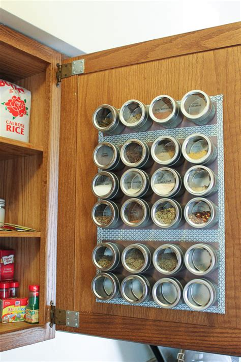 kitchen spice storage ideas 15 small kitchen storage organization ideas