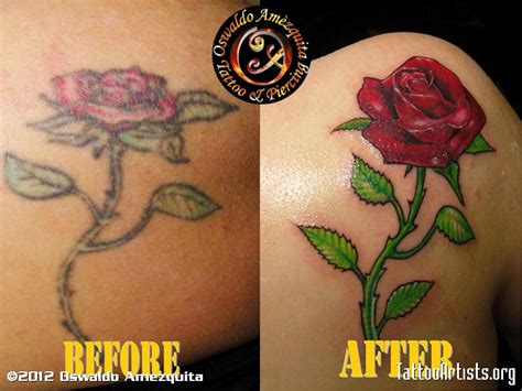 rose tattoo cover ups cover up artists org