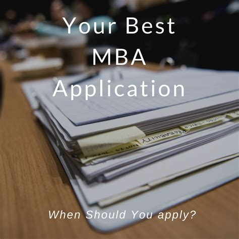 Applying Early For Mba Rounds by Applying To The Of The Mba Admissions