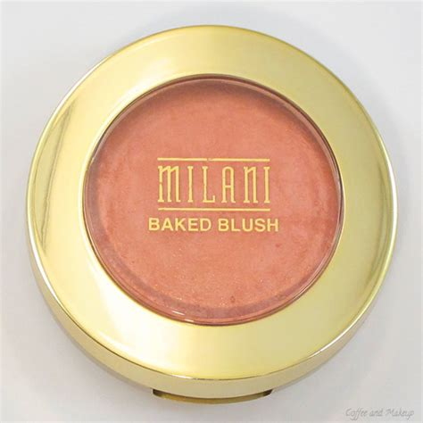 Baked Blush Luminoso milani luminoso baked powder blush review and swatches coffee makeup