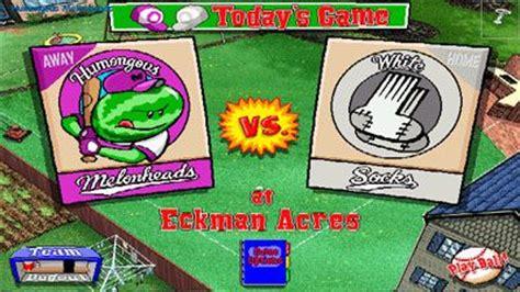Backyard Baseball Real Backyard Baseball Descargar El Juego Sis Gratis B 233 Isbol En