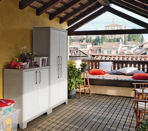 mobili terrazzo armadio da esterno arredo giardino