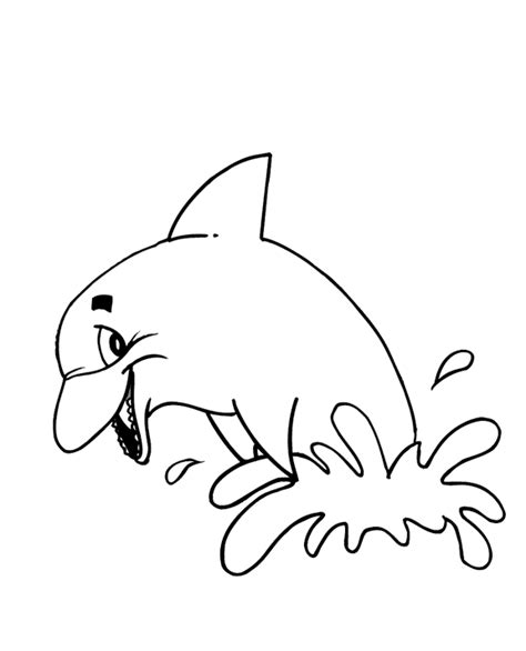 Dolphin Coloring Pages Coloring Pages To Print Dolphin Color Pages