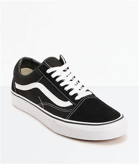 black and white skate shoes vans skool black white skate shoes