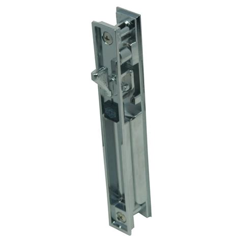 Locks For Sliding Glass Doors Home Depot Lockit Bolt Sliding Glass Door Black White Lock 200100100 The Home Depot
