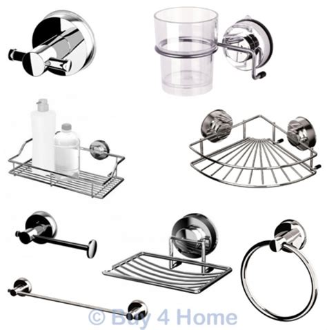 Blue Canyon Stainless Steel Gecko Suction Bathroom Stainless Steel Bathroom Accessories Uk