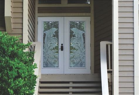 Etched Glass Front Doors Glass Etching Designs For Doors To Beautify Your Home Home Doors Design Inspiration