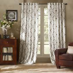 Window Panel Curtains Bombay Garrison Rod Pocket Back Tab Window Curtain Panel Bed Bath Beyond