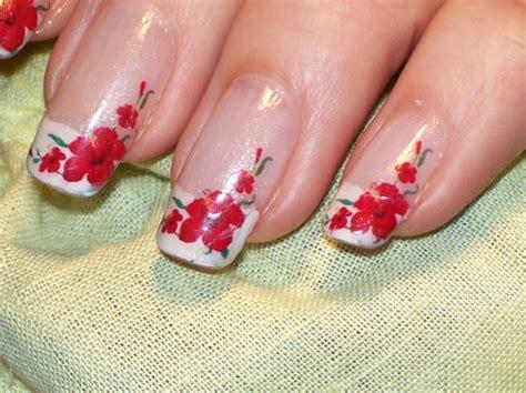 fiori unghie ricostruzione unghie foto pourfemme