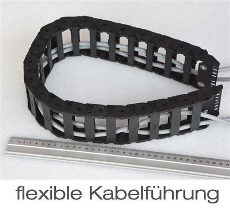 k r terrassenlager flex kabelf 220 hrung 20x80mm 72cm flexibler kabelkanal