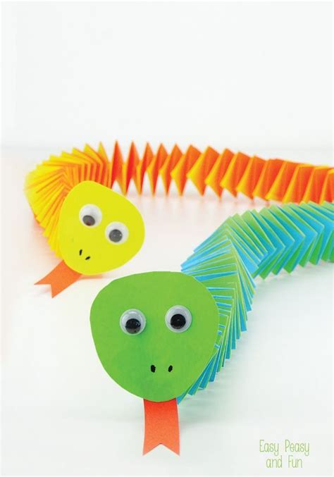 best 25 snake crafts ideas on zoo crafts - Craft For