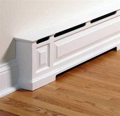 baseboard heater covers on heater covers