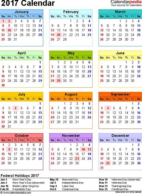 Calendars Are Us 2017 Calendar 17 Free Printable Word Calendar Templates