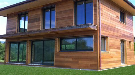 Maison Bois Plein Pied Avec Bardage Canexel Nos Maisons entretien bardage bois myqto