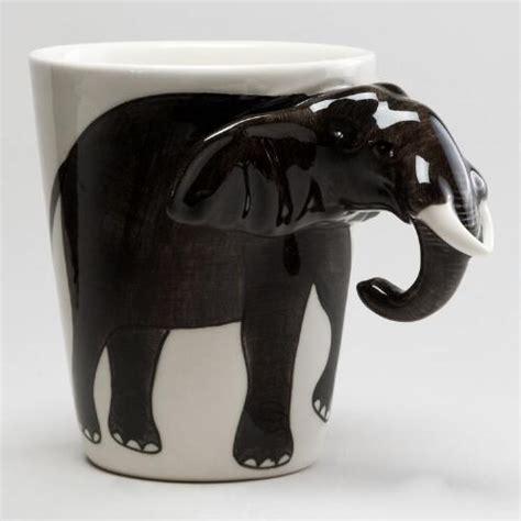 World Market Elephant L by Elephant Mug World Market