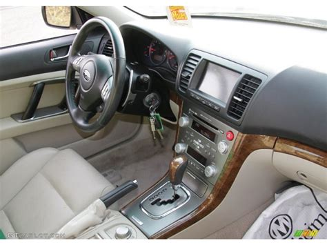 Warm Ivory Interior 2008 Subaru Legacy 3 0r Limited Photo