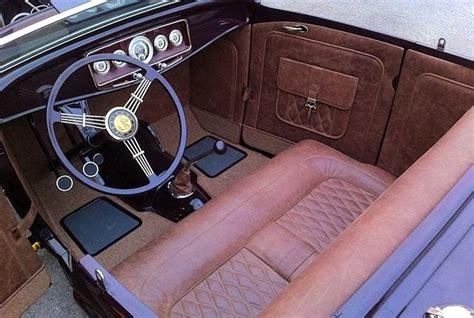 hot rod upholstery shop profile m m hot rod interiors