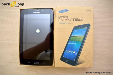 Second Galaxy Tab 3v h 236 nh ảnh khui hộp samsung galaxy tab 3v tại bạch mobile