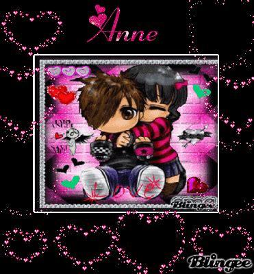 imagenes de amor animadas de rock fotos animadas amor emo para compartir 127505868
