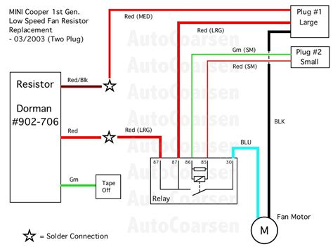 mini cooper radiator fan wiring diagram wiring diagram